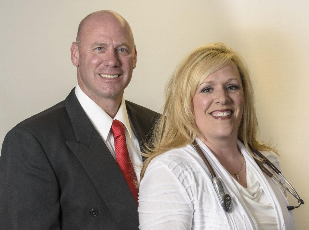 Corporate Headshots - Couple
