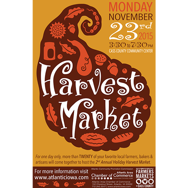 Local Marketing poster Design - Harvest Market