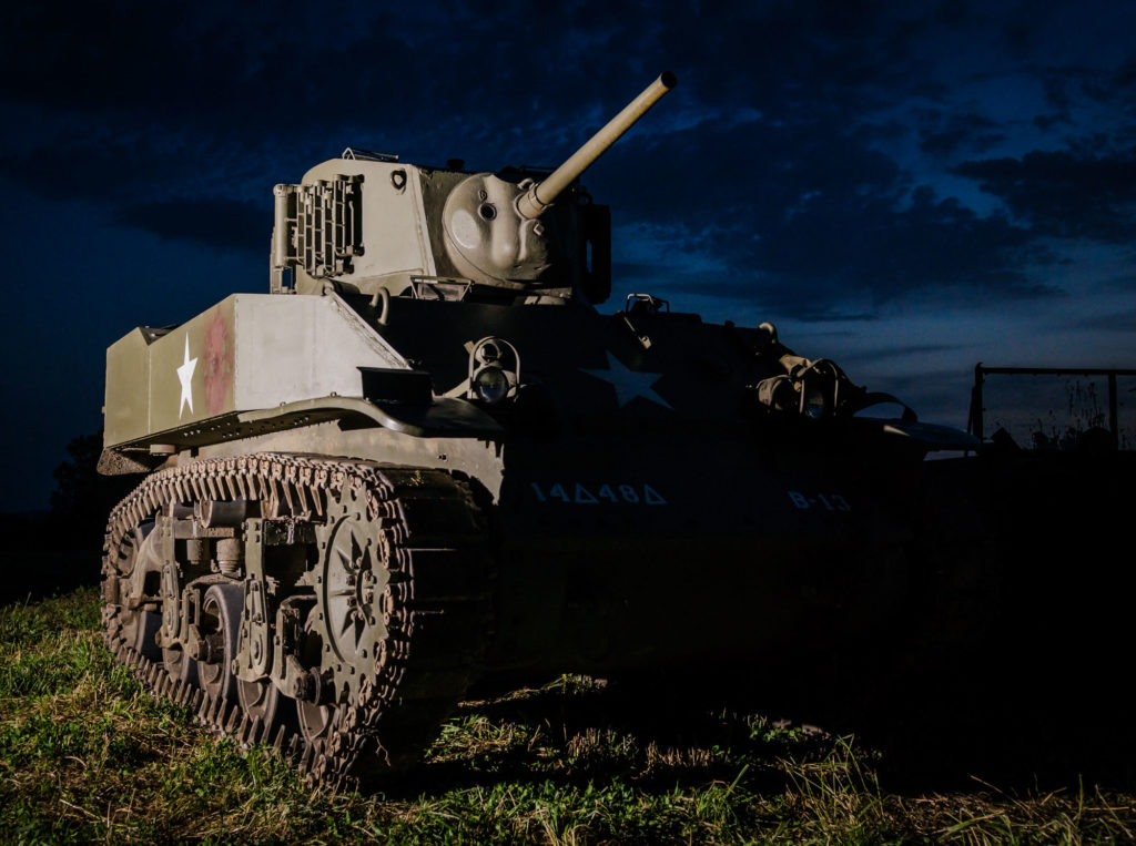 Military Event Photography - WW2 Tank