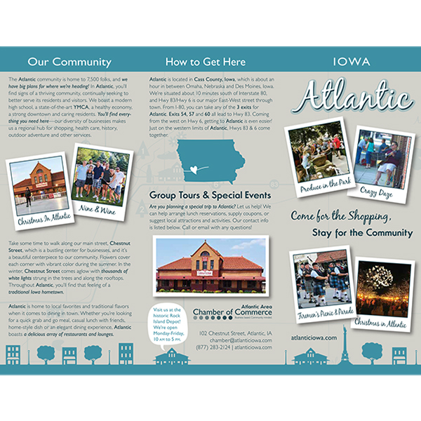Tourism Brochure Graphic Design